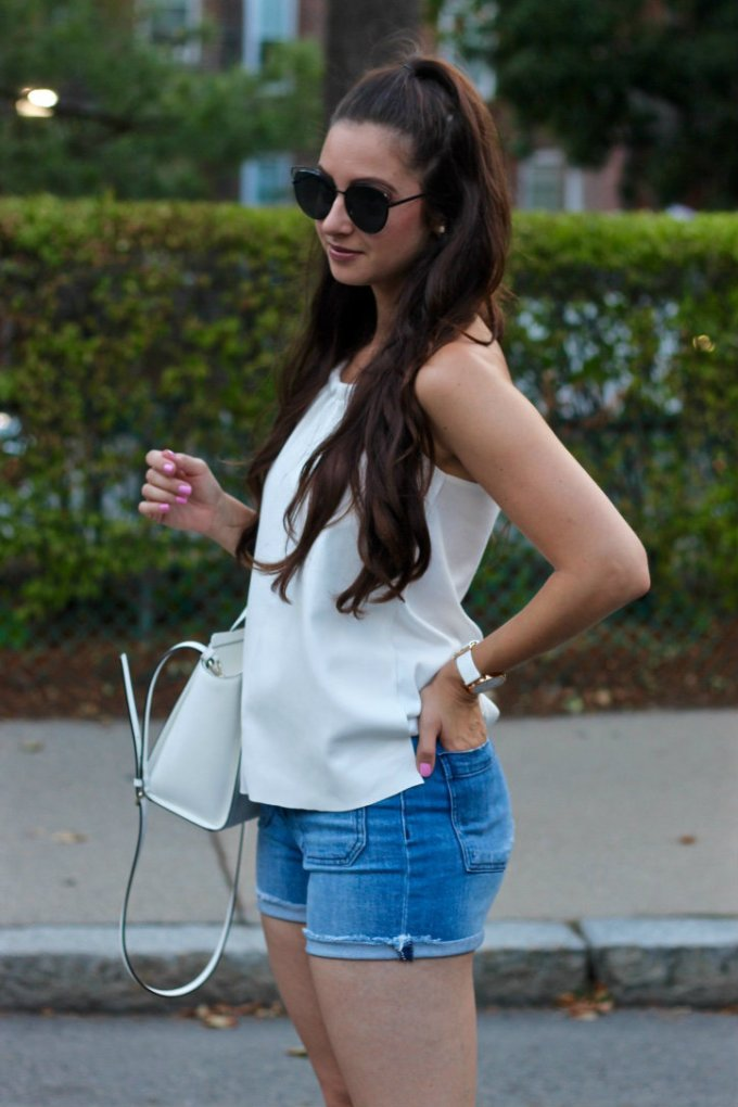 La Mariposa Boston Style Blog, High Half Pony Tail