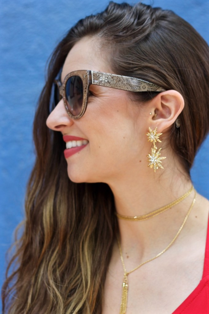 BaubleBar Celestial Drops Star Earrings