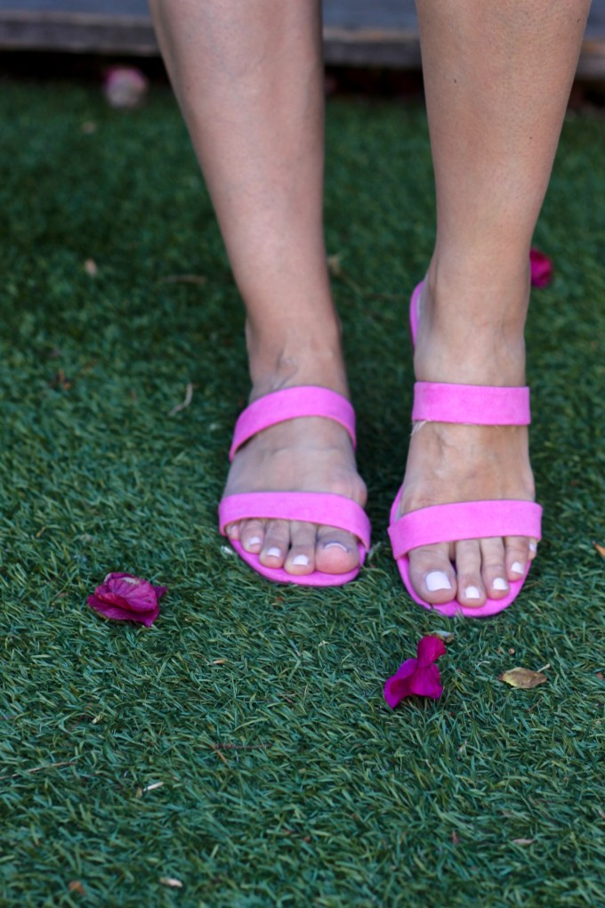 H&M Pink Strappy Sandals