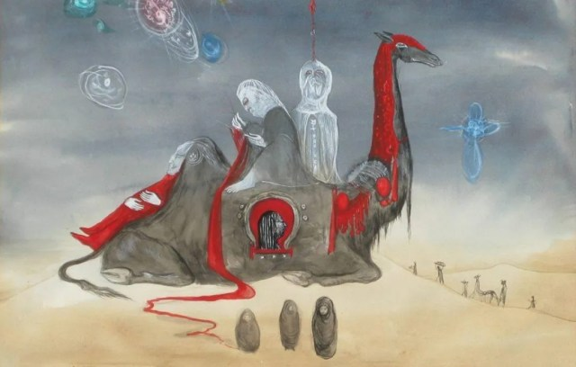 Leonora Carrington, Woman in the desert