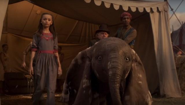Dumbo: Tim Burton sucumbe a la corrección