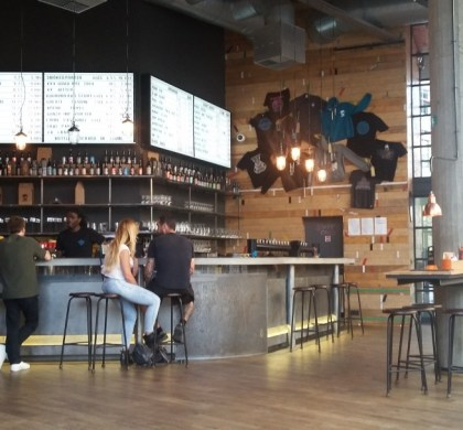 Dégustation chez Brewdog Bruxelles
