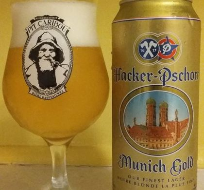 Munich Gold de Hacker-Pschorr (Allemagne)