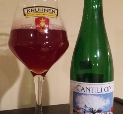 Kriek 100% Lambic Bio de Cantillon (Belgique)