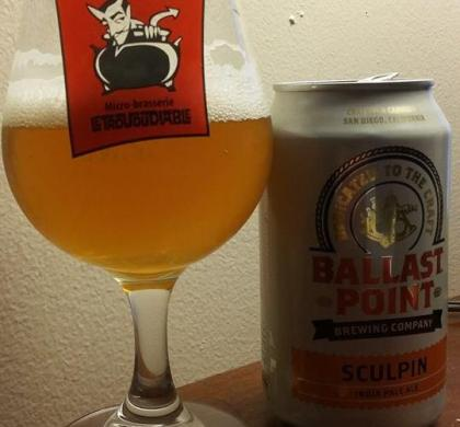 Sculpin de Ballast Point (Californie)
