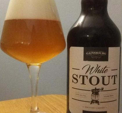 White Stout de Gainsbourg