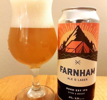 Nord-Est IPA de Farnham Ale & Lager