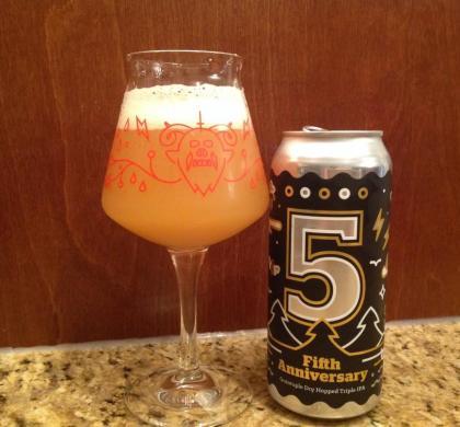5th Anniversary de Burlington Beer Company