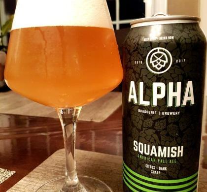 Squamish de Brasserie Alpha