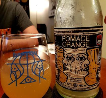 Pomace Orange d'Auval