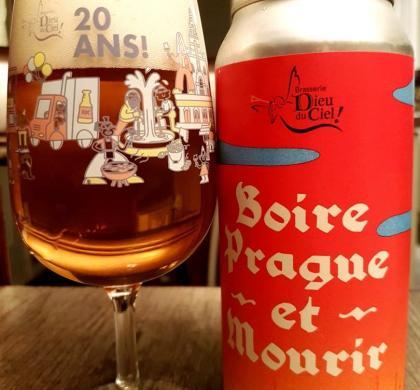 Boire Prague et Mourir de Dieu du Ciel!