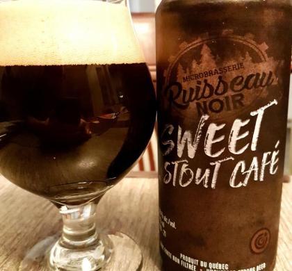 Sweet Stout Café du Ruisseau Noir