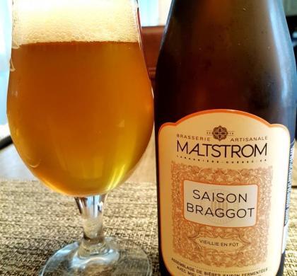 Saison Braggot de Maltstrom