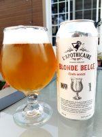 Blonde belge de l'Apothicaire