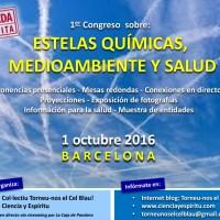 Celebran en Barcelona el primer congreso monográfico sobre CHEMTRAILS
