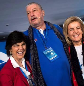 José María Fidalgo en la Convención Nacional del Partido Popular en Sevilla, 2018