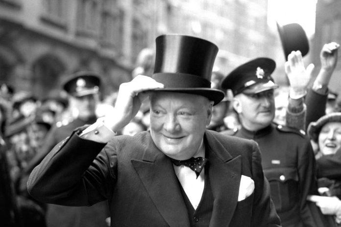 Winston Churchill, primer ministro británico durante la Segunda Guerra Mundial.