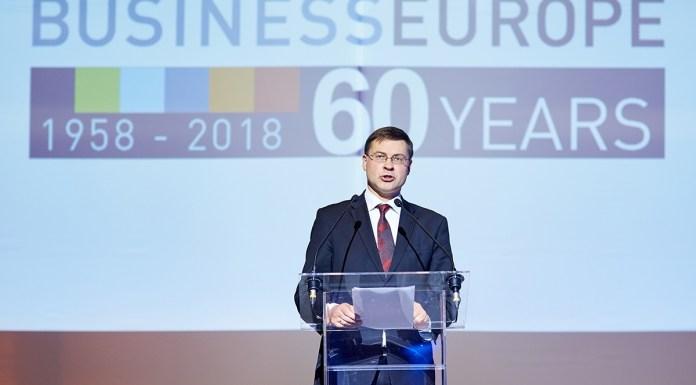 La patronal europea de las grandes empresas, Business Europe, ha celebrado recientemente su 60 aniversario. Foto: © BUSINESSEUROPE