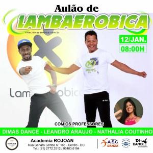 Academia Rojoan | Aulão De Lambaerobica Em Duque De Caxias – RJ @ ACADEMIA ROJOAN