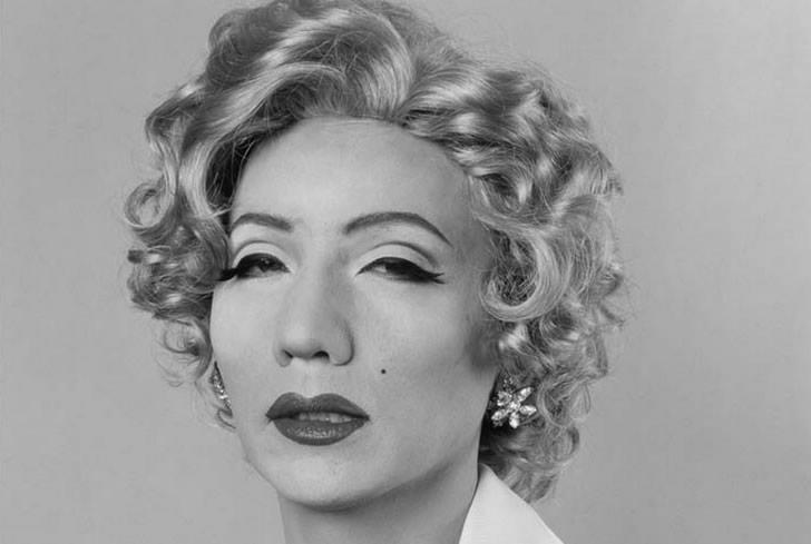 Recreation of Marilyn Monroe