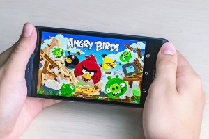 Angry Birds Computer Game Developed By Finnish Company Rovio Ent