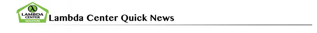 Lambda Center Quick News