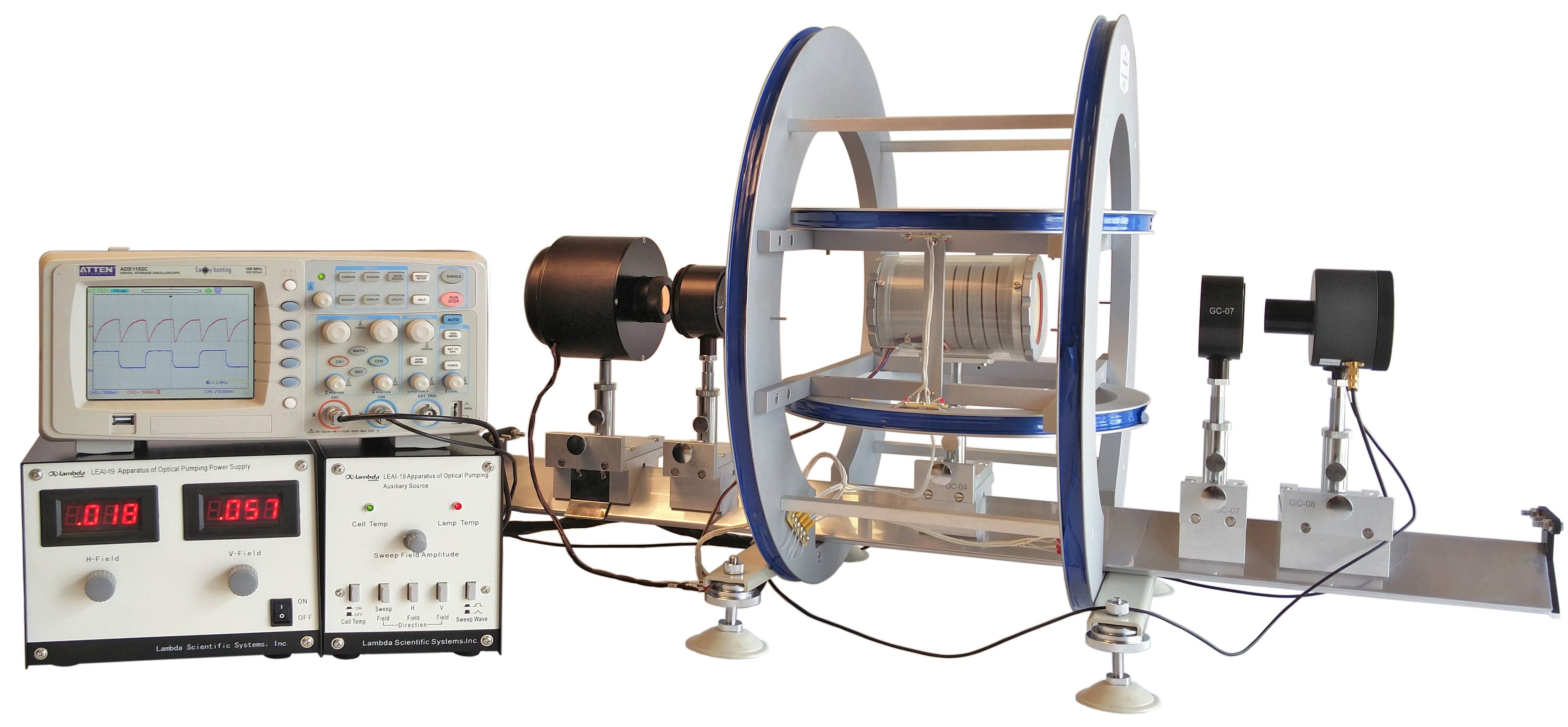 Physics Experiment Leai 19 Apparatus Of Optical Pumping