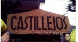 Unique signage. DepEd Castillejos sign was made from mung bean seeds and grains of corn, which is quite captivating.