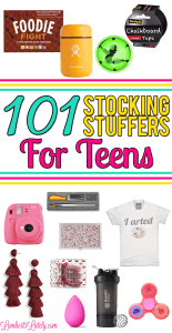 101 Stocking Stuffers for Teens