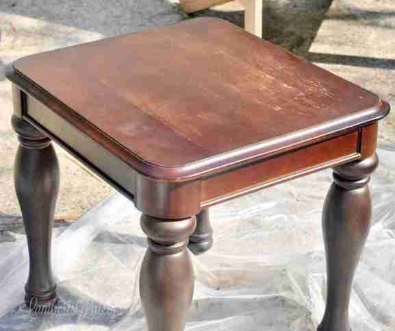 Strange The Easy Way To Chalk Paint Laminate Furniture Using Only Home Remodeling Inspirations Genioncuboardxyz