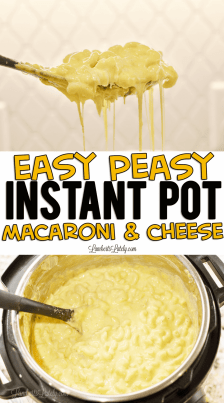 Easy Peasy Instant Pot Macaroni and Cheese