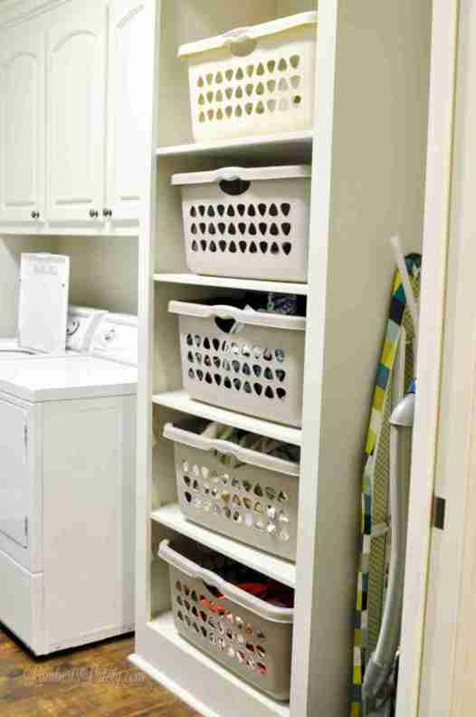 This list of over 50 home cleaning projects will help you organize and deep clean while you're stuck in your house. It's even broken down by room (kitchen, bedroom, etc.).