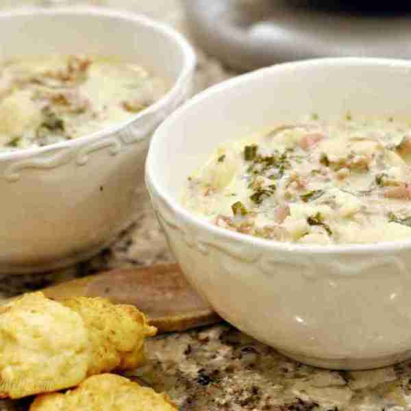 Pressure Cooker Zuppa Toscana (Part 8 – Best of Freezer Meal Boot Camps)