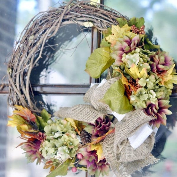 An Easy DIY Fall Wreath