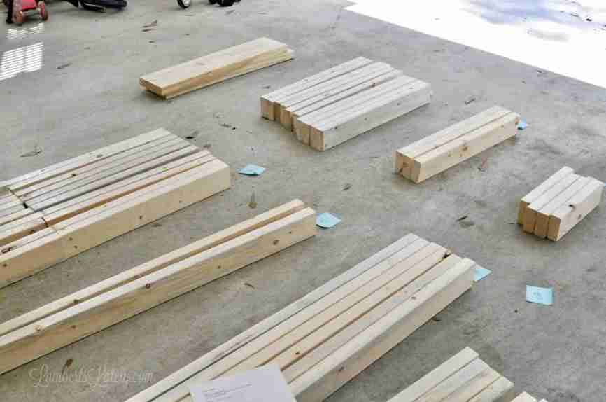 A DIY 2x4 Outdoor Sectional (with Crib Mattress Cushions ...