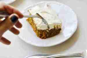 Pumpkin Bombshell Cake