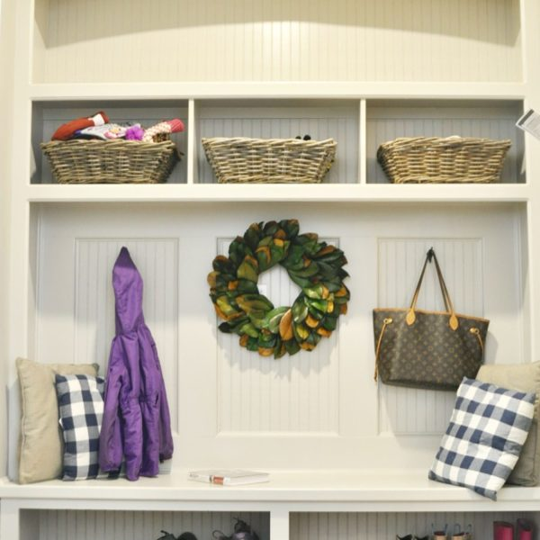 A Peek at Our Mudroom
