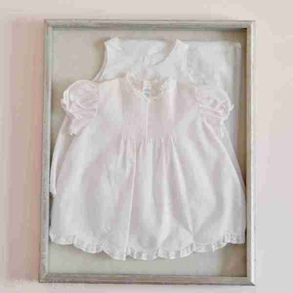 How to Make a DIY Framed Baby Outfit