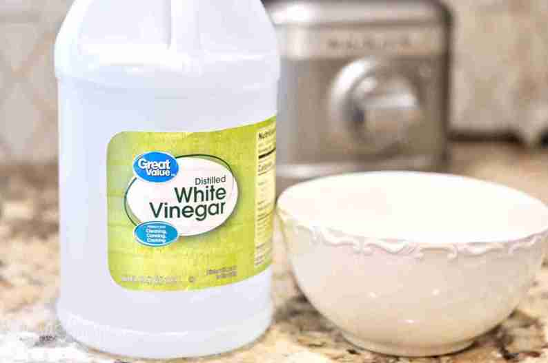 This posts shows how to clean a microwave the easy way - simply use vinegar and water!