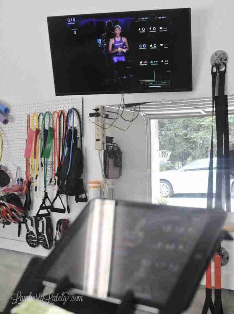This post shows how to use a Schwinn IC4 Spin Bike to get a DIY Peloton workout. Includes supplies needed, how to get cadence and resistance measurements, and what apps are needed.