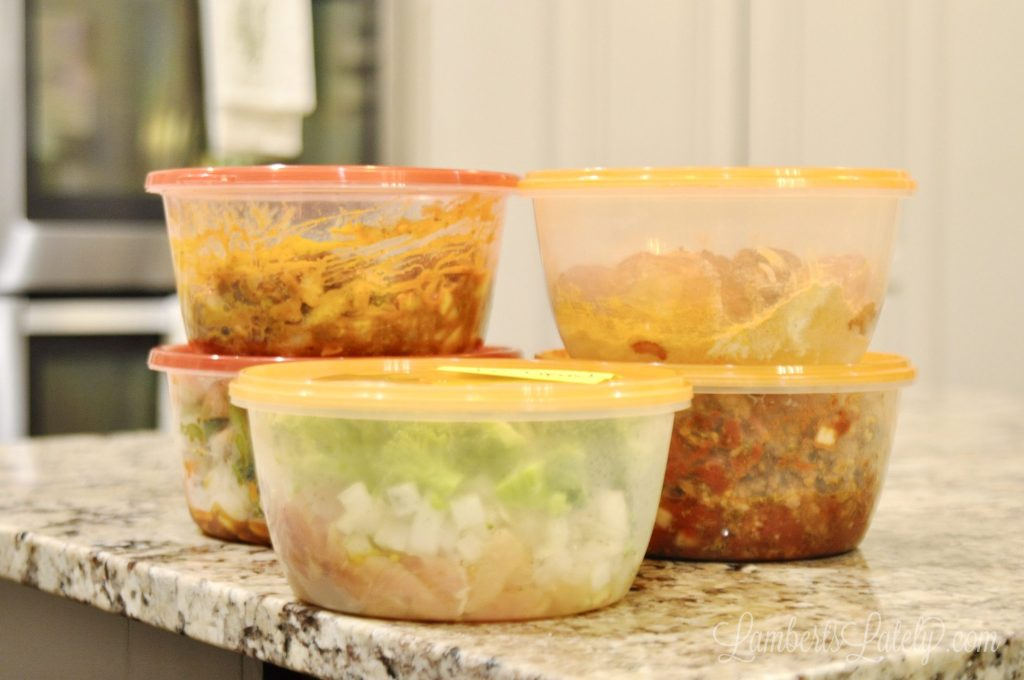 This set of 5 Instant Pot (pressure cooker) or Crock Pot (slow cooker) meals is so easy to make ahead for busy weeknight dinners! Includes kid friendly and healthy options.
