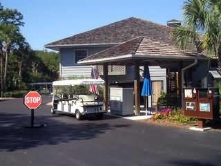 Tram Stop in Pelican Bay