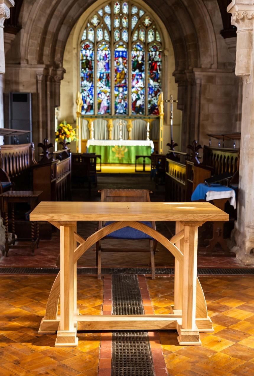 Table, Choir and Alter