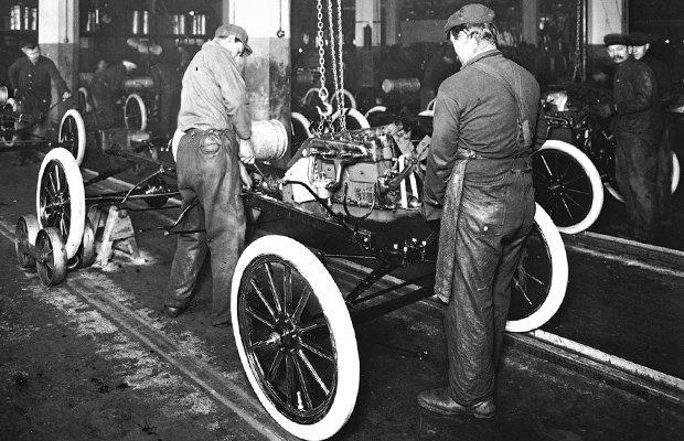 1913 конвейер кто изобрел