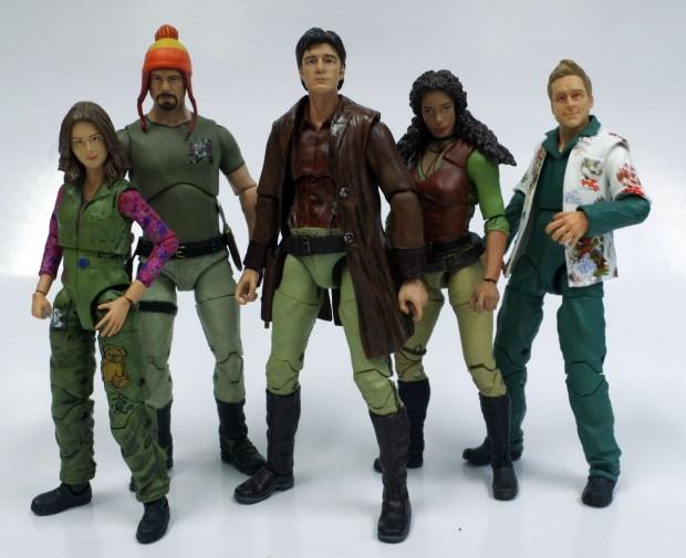 Funko Legacy Firefly, Kaylee, Jayne, Malcolm, Zoe, Wash