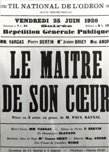 Première pièce de Paul Raynal (Médiathèque du Grand Narbonne)