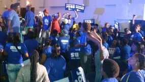 JOBS: The DA relied on the 6 million jobs campaign to get votes.