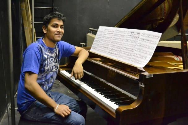 MUSIC AND LYRICS: PhD candidate Ritesh Ajoodha's research on using Darwin's Theory of Evolution to compose music will be published in IGI Global's Encyclopaedia of Information Science and Technology. Photo: Lameez Omarjee
