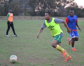 SHOOTING FOR NATIONALS: Wits men's soccer team have a shot at reaching the USSA national championships if they reach the top three places of the log. Photo: Lameez Omarjee