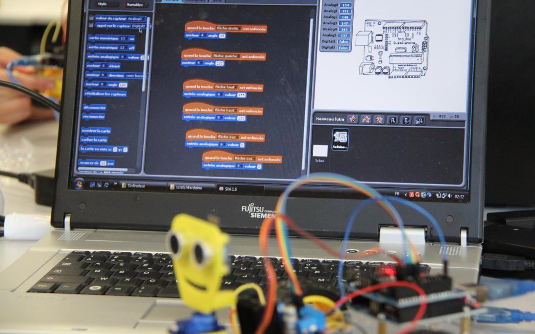 Mini-robots au menu de notre Coding Goûter du 21 juin !